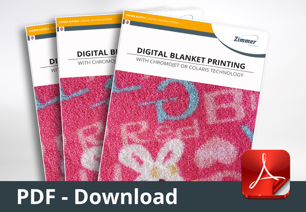 ChromoJET 800 - Digital Blanket Printing
