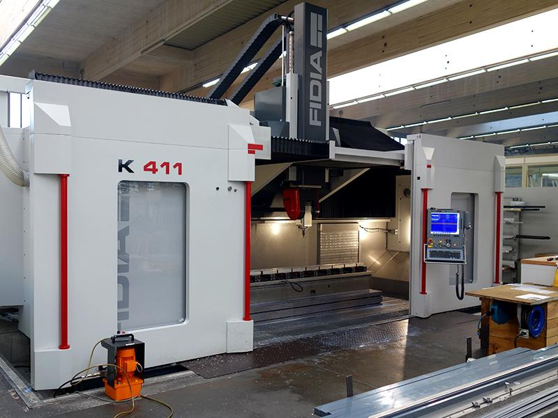 High performance milling systems - Fidia K411