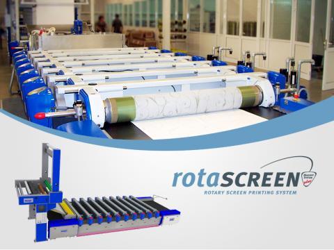 Rotascreen TG Wallpaper Printing