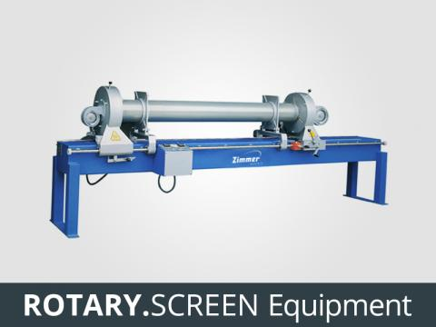 ZIMMER Rotary Screen Equipment